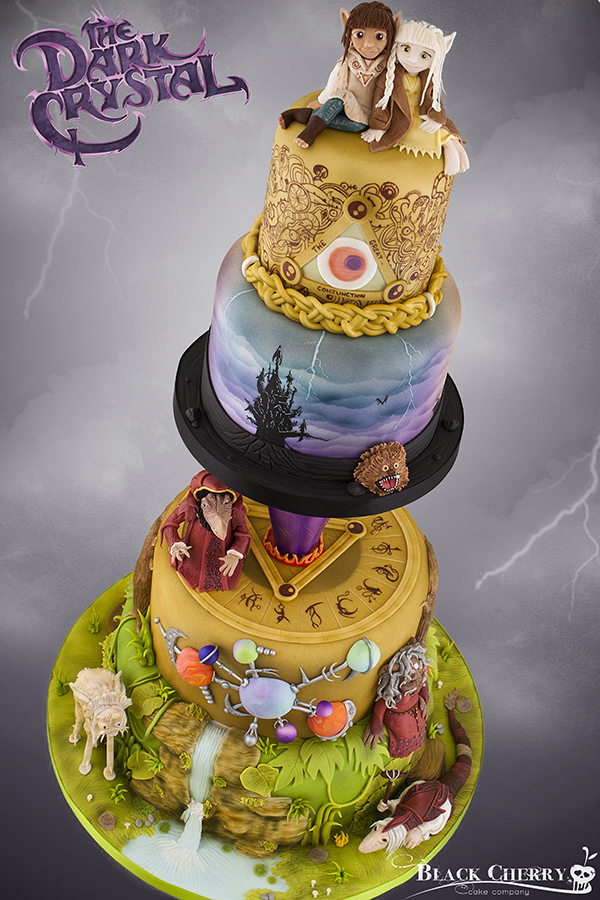 The Dark Crystal Cake Is Everything Our 90s Childhood
