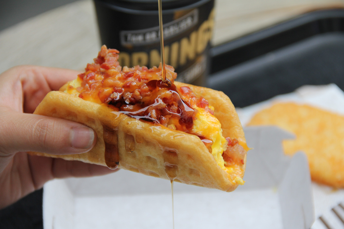 Taco bell s new quesalupa is being tested in toledo ohio the