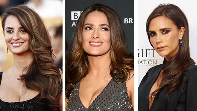 mujeres con cabello castaño oscuro