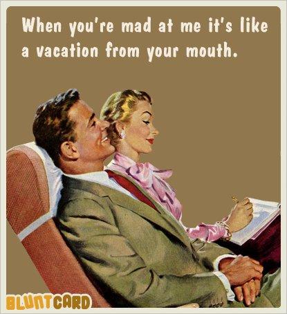 1544 best Vintage Humor images on Pinterest | Retro humor ...  |Blunt Cards