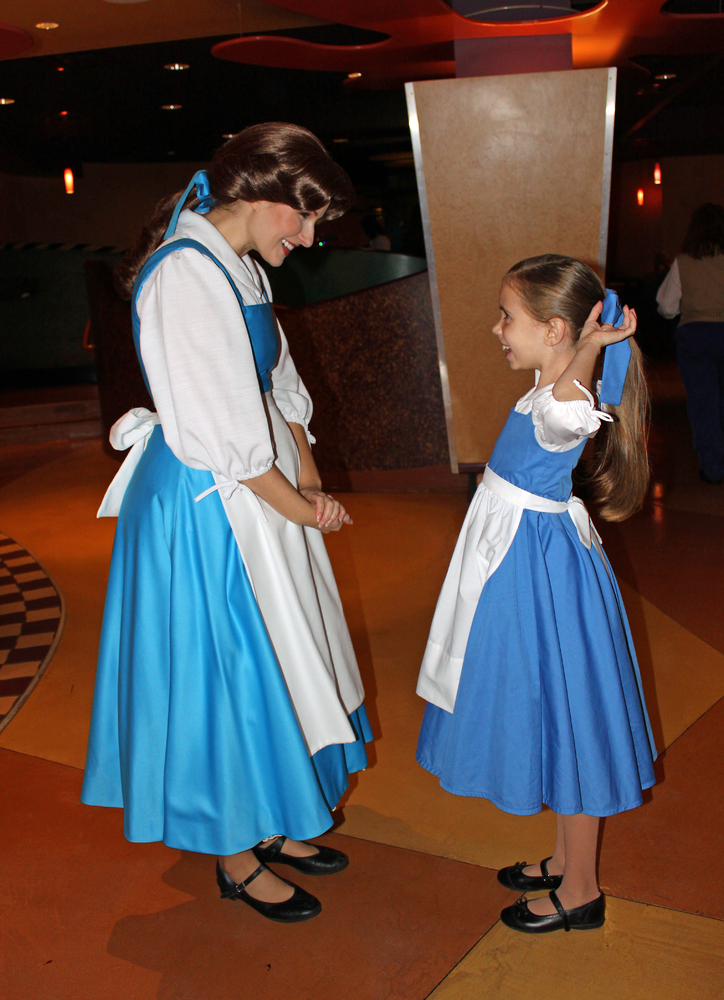 Disney Inspired Outfits Belle Little Girl Wows Disne...