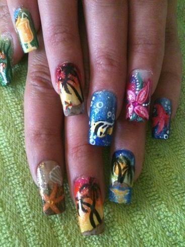 Tropical Nail Art For Summer Season Armenian News Tert Am