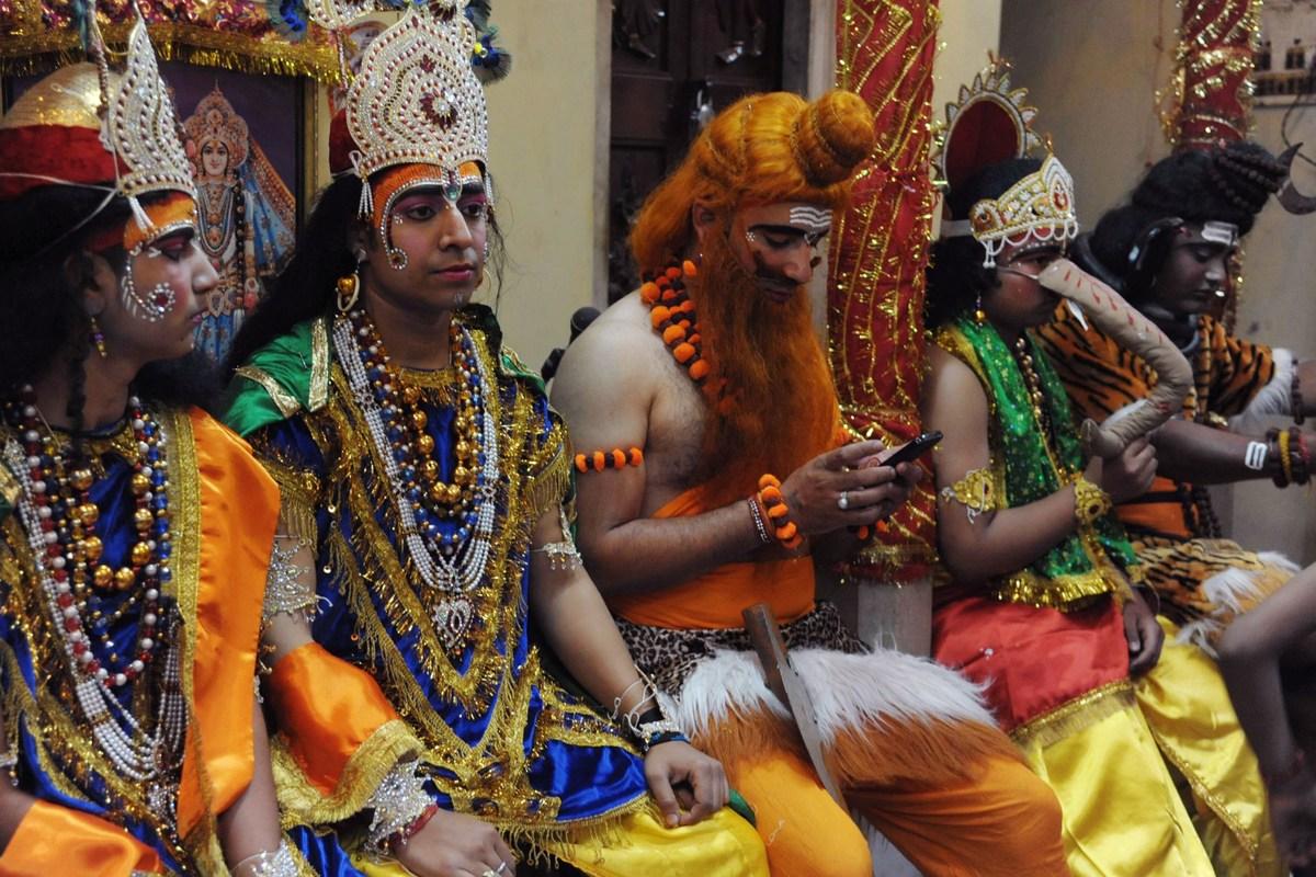Image result for hindu mythology ram dressed
