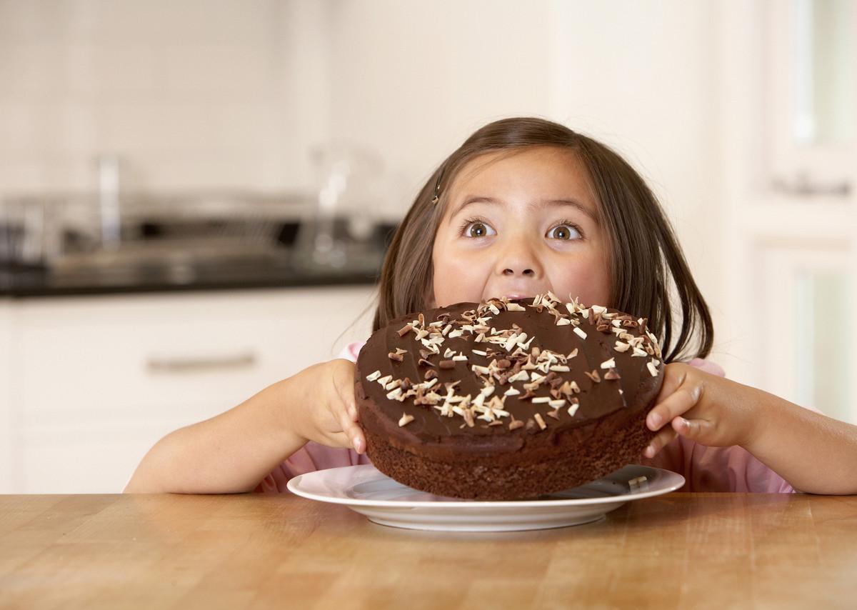 Eaten Too Much Chocolate Cake