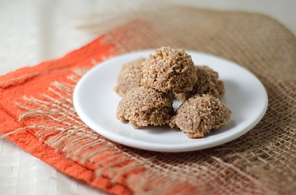Get the Cinnamon Pecan Coconut Macaroons recipe by The Chic Life