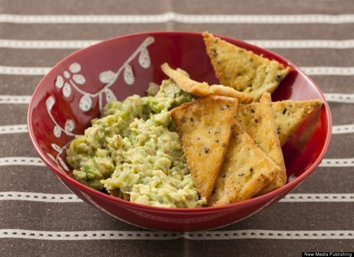 Get the Guacamole with Roasted Tomatillos recipe