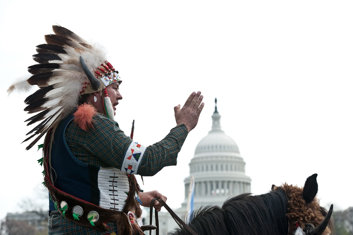 Slide Free on Keystone Xl Pipeline Native American