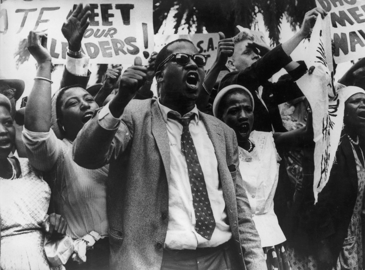 south african apartheid political defiance campaigns against Originally the use of civil resistance against apartheid was based on gandhian ideas, which originated in south africa in 1906 where gandhi was a lawyer working for an indian trading firm soon the african national congress (anc), founded in 1912, became the major force opposing the apartheid system's oppression of the 80% non-european.