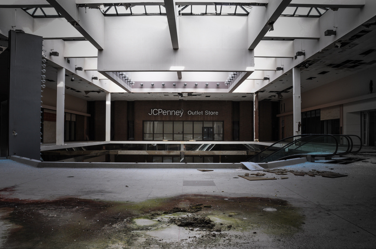 Eerie Photos Of Abandoned Malls Reveal A Decaying Side Of