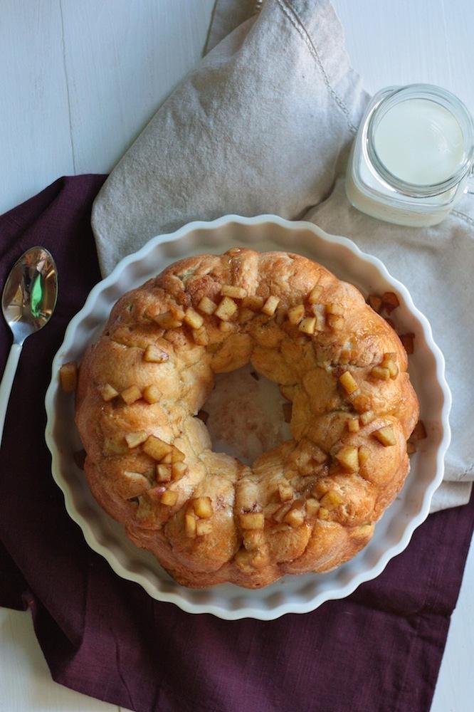 Rolo S'mores Skillet Monkey Bread Recipe — Dishmaps