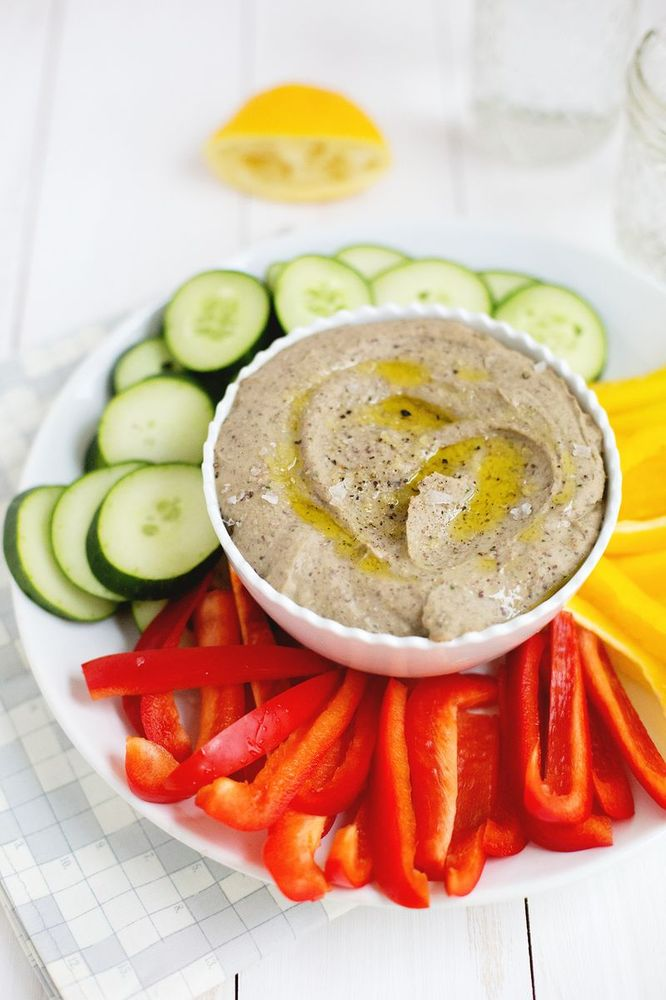 Get the Black Bean Hummus recipe from A Beautiful Mess