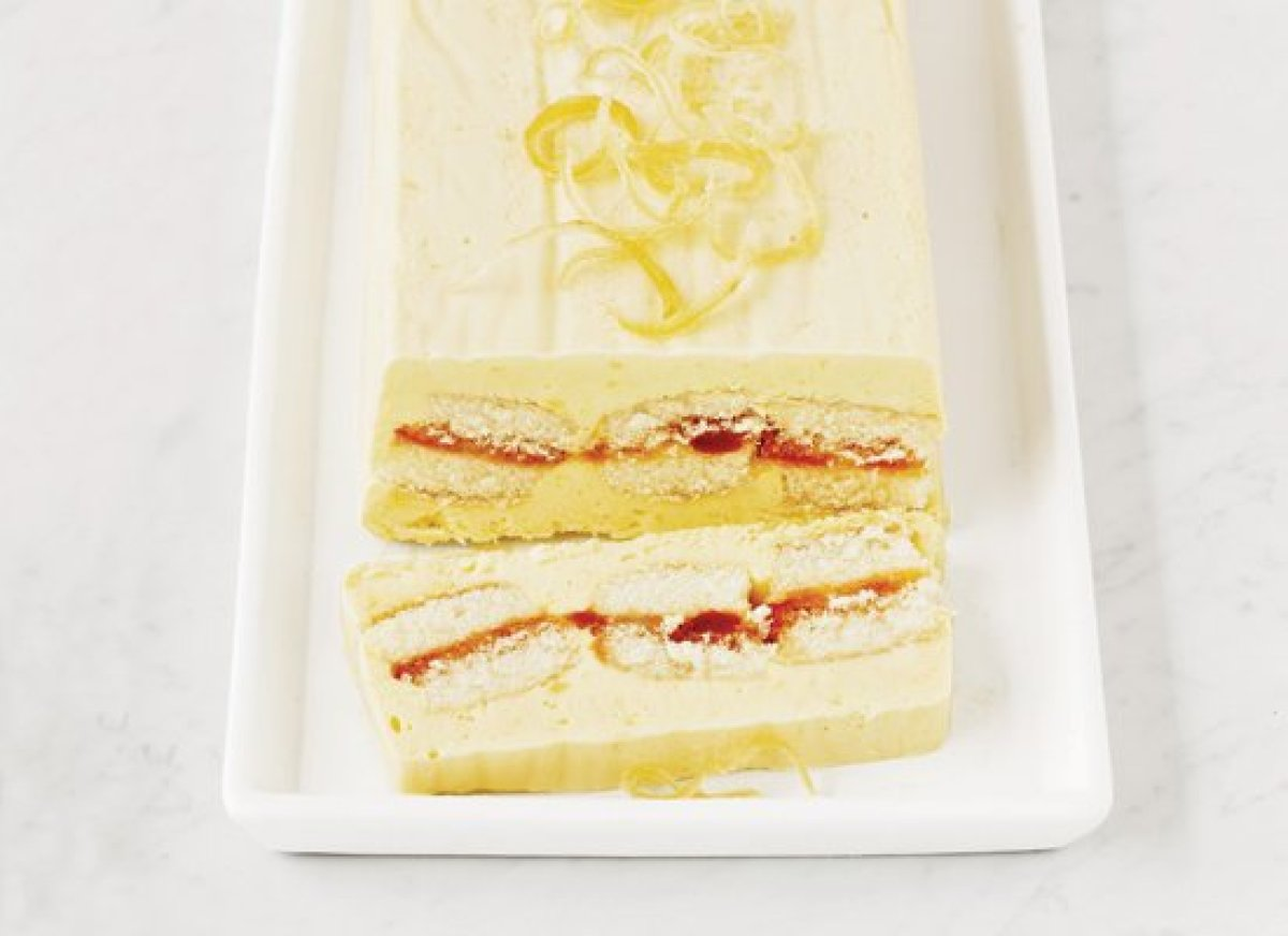 cake roll with honey semifreddo recipe yummly buckwheat cake honey ...