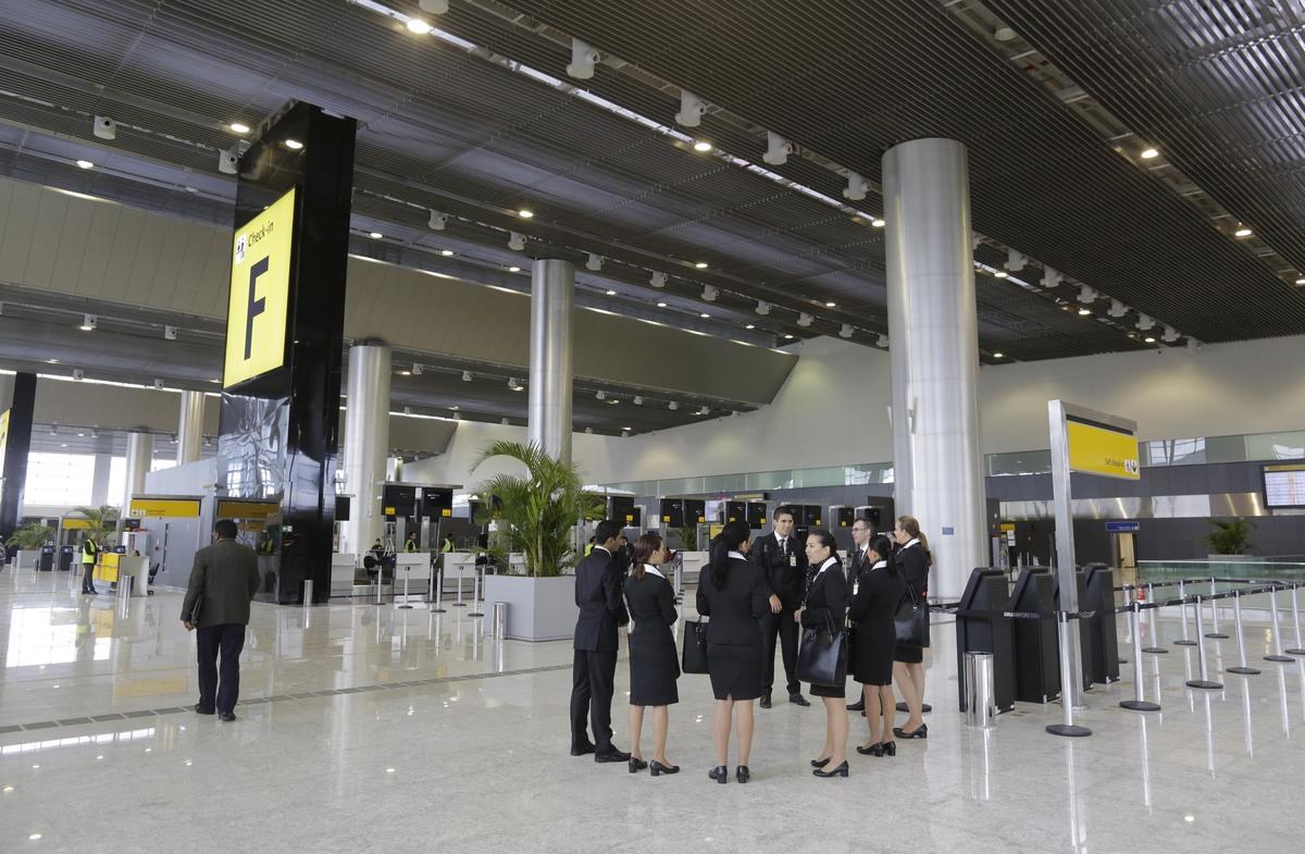 Aeroporto Gru : Conheça o novo terminal do aeroporto internacional de guarulhos