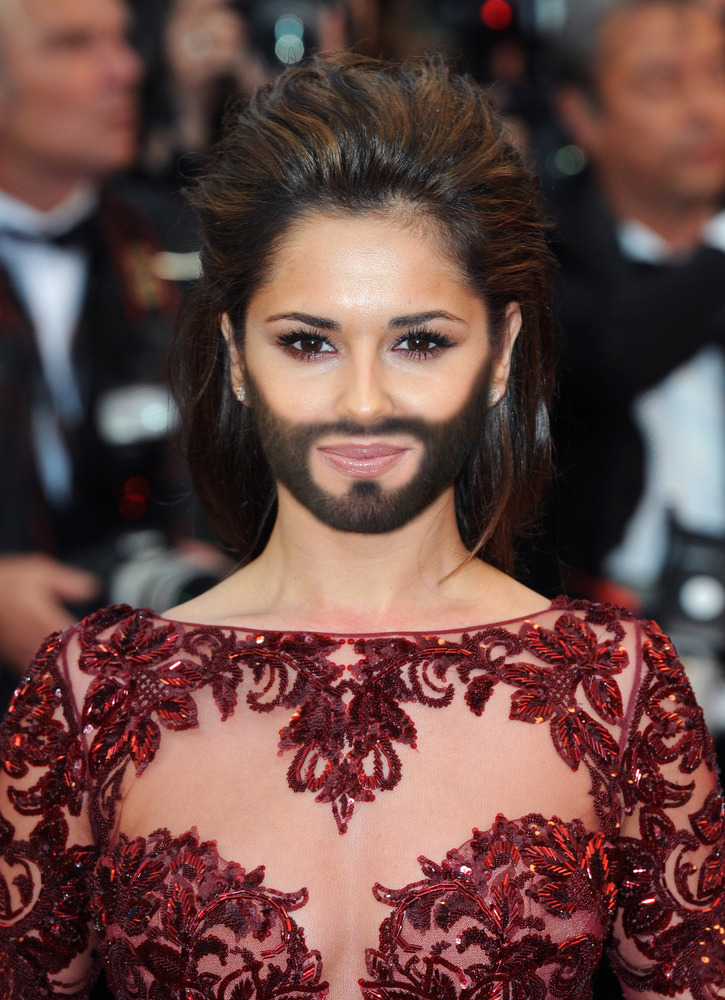 Conchita Wurst Eurovision 2014 Winner S Beard Takes The