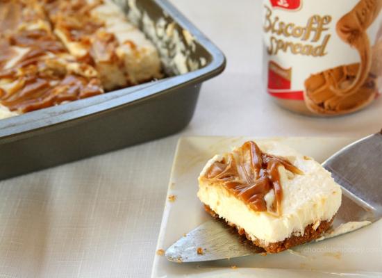 Get the No-Bake Egg-Free Biscoff Swirl Cheesecake recipe by Chocolate ...