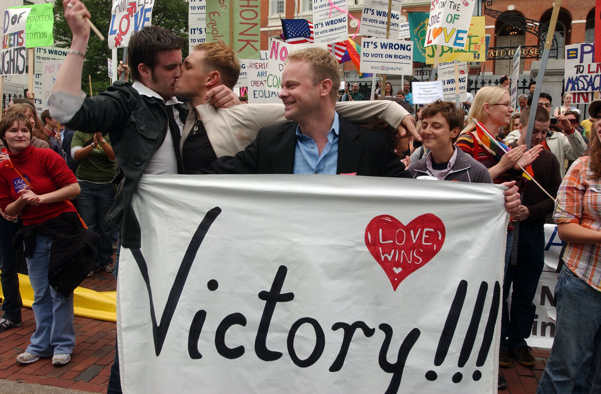 Legalization of gay marriage in massachusetts