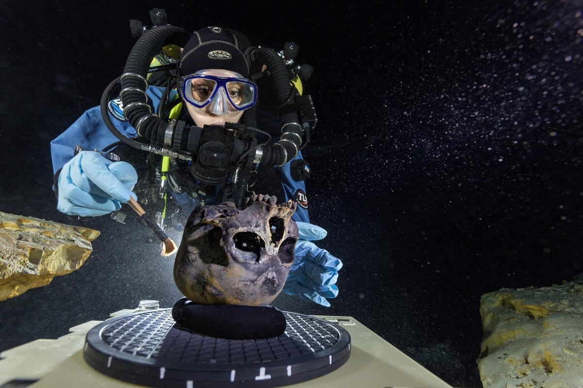 Naia, el primer esqueleto del pleistoceno americano