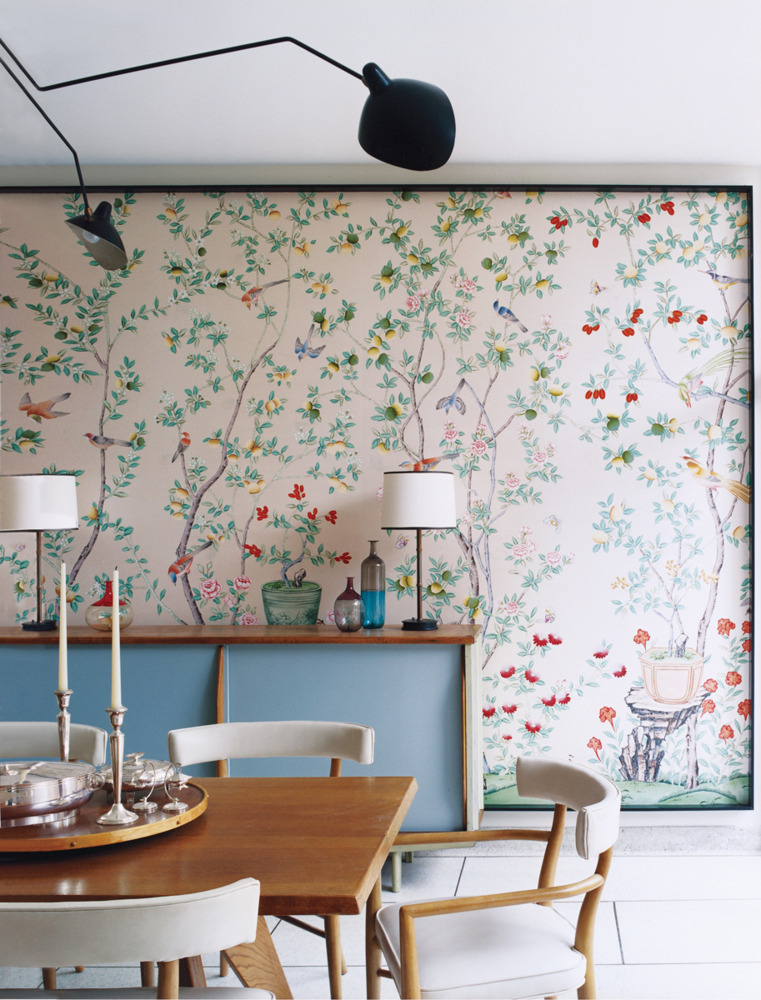 Dining Room Wall Covering
