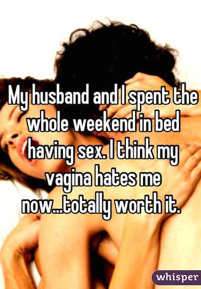 Ladies sex confessions
