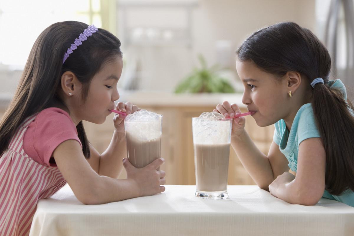 Chocolate Milk Drinking Record