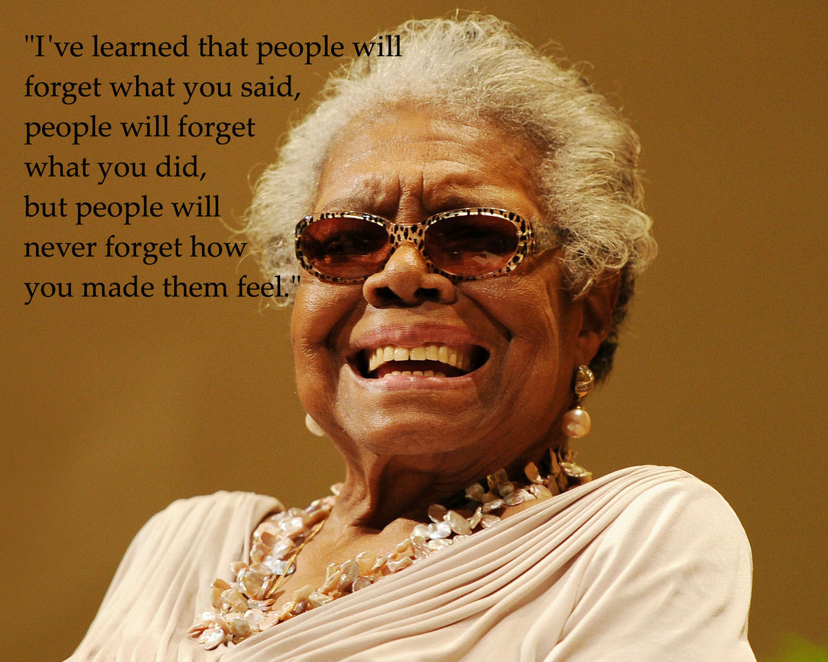 Maya Angelou Quotes: Inspirational Words From The ...