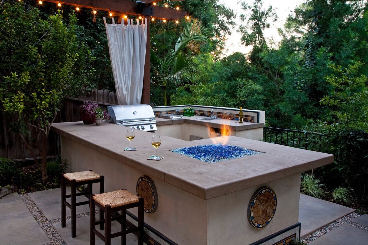 B Q Kitchen Islands These 11 Outdoor Kitchens Are What Summer Entertaining