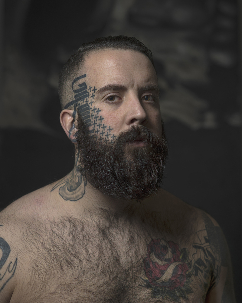Striking Photos Of Inked Individuals Who Proudly Don Face