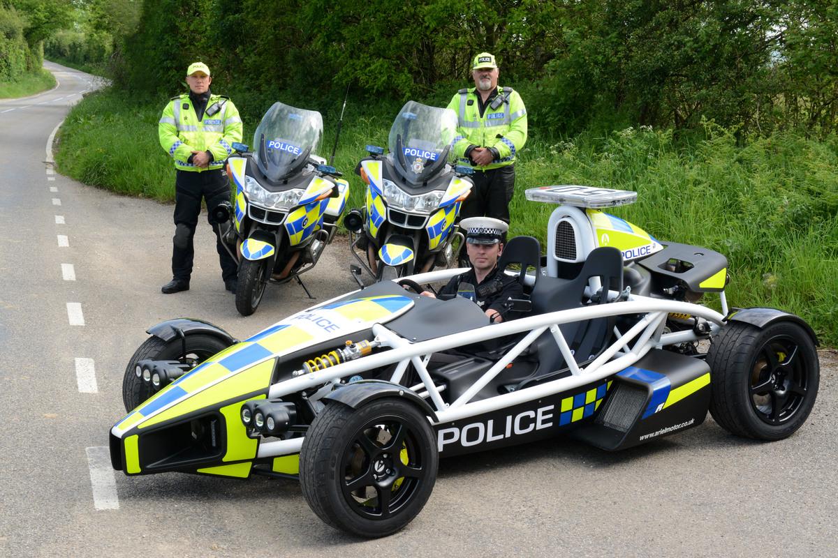 Ariel Atom Police car | thekevinchen