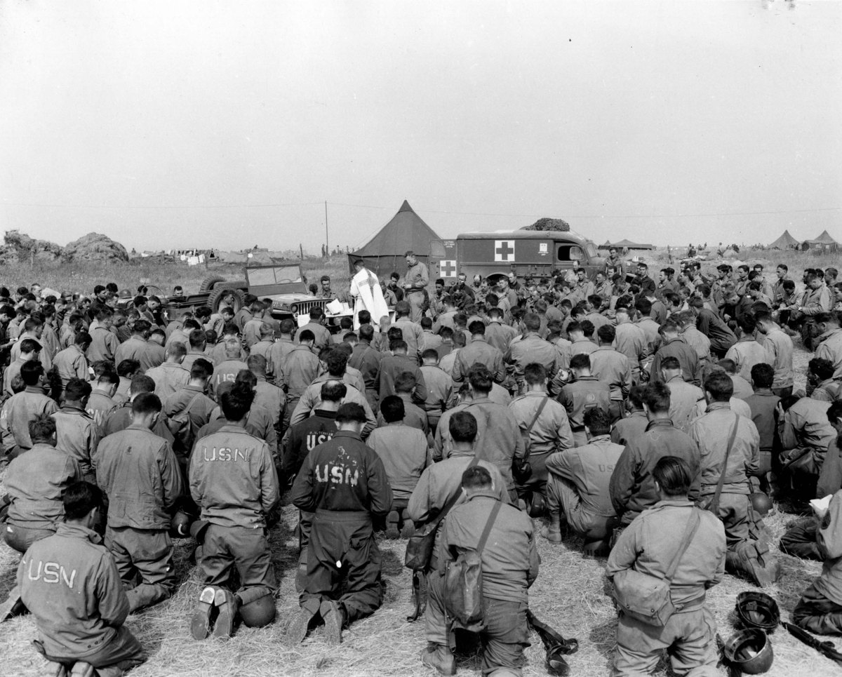 Remembering The Brave D Day Chaplains Of Normandy 70 Years