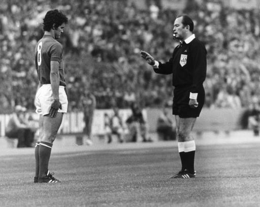 1974 -Of course, back in 1974 it was Fabio who was getting told off.