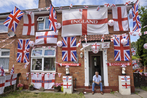 2010 - And you thought YOU were an England supporter...
