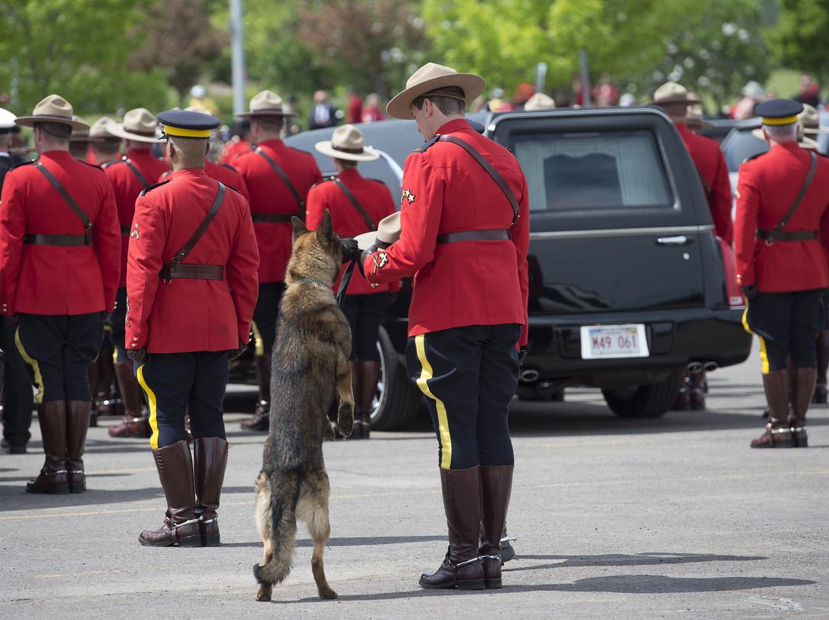 In Photos: Canada Honours Fallen Moncton Mounties