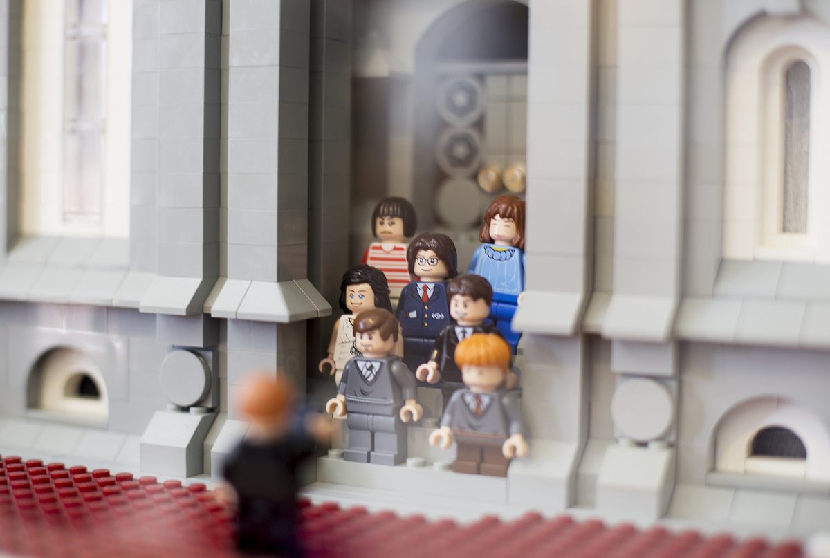 Salt Lake Temple Built With Over 35 000 Legos By National
