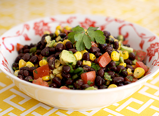 Get the Southwestern Black Bean Salad recipe from Heat oven to 350