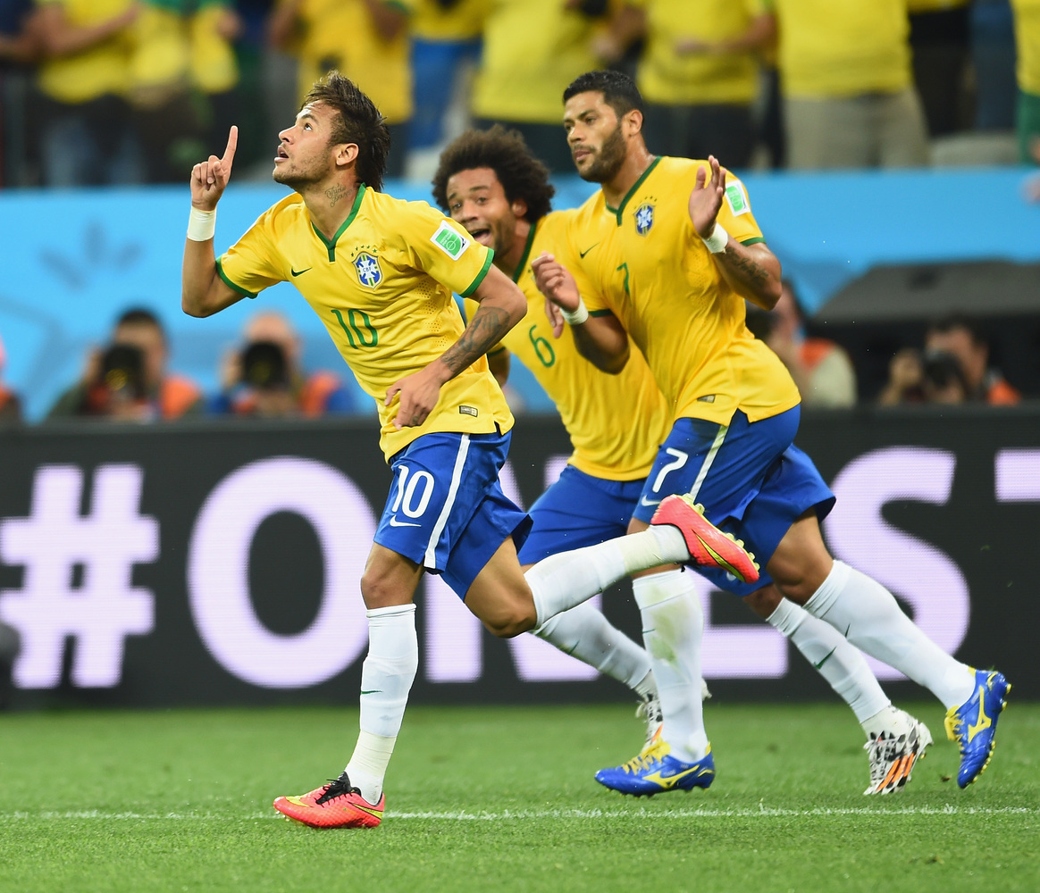 Hulk Brazil Football: Brazil Scored The First Goal Of The World Cup ... Against