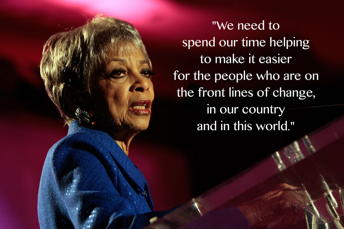 ruby dee leaves us with wise words to live by