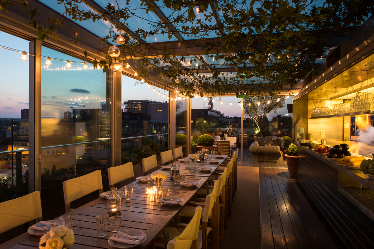 Best rooftop bars in london plus restaurants and fun for Terrace hotel london