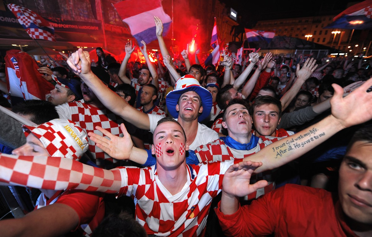 Croatia, Turkey charged over new Euro 2016 fan trouble ... |Croatia Soccer Fans