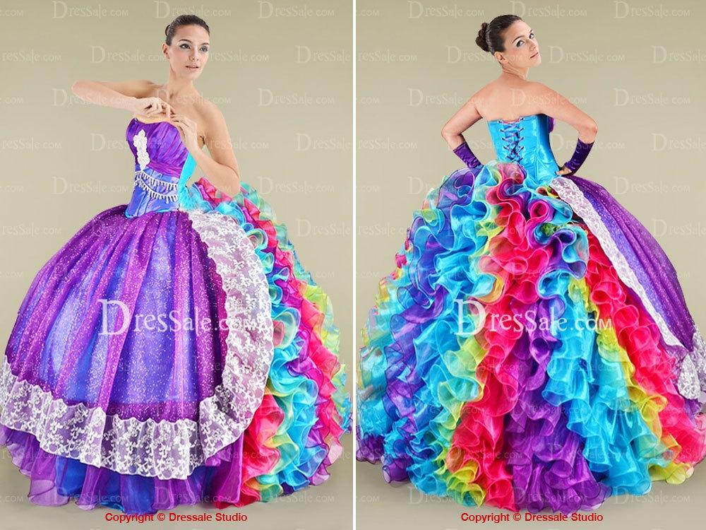 Los vestidos de Quinceañera más feos que jamás hayas visto (FOTOS)