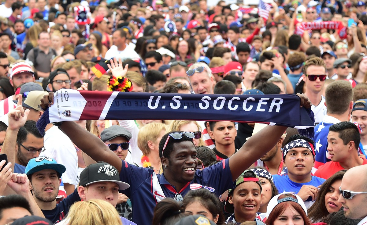 World Cup 2014 Usa S S O C C E R Football Fans Maybe The Most Fanatical Yet Pictures