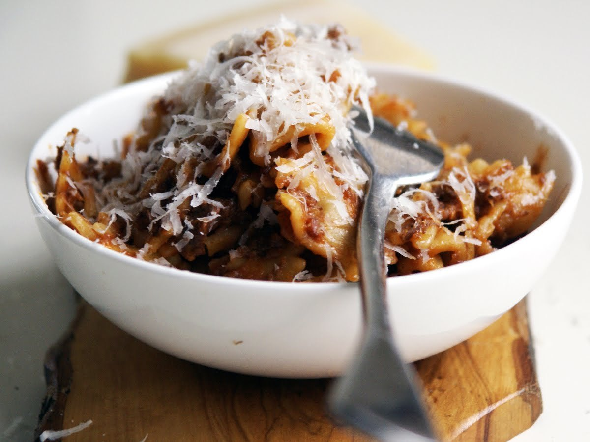 Get the Beef Cheek Ragù recipe from Alex Rushmer of The Hole In The ...