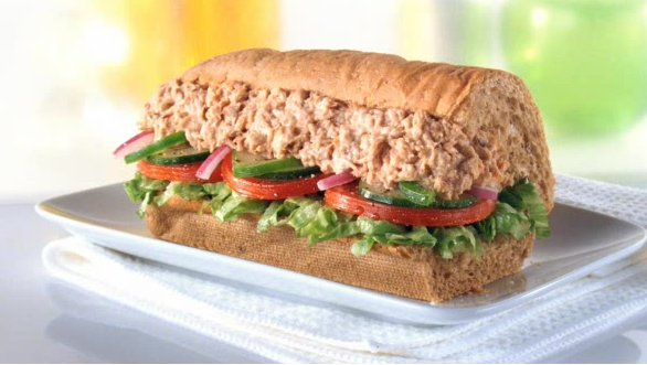 What your subway sandwich order says about you huffpost for Tuna fish sandwich