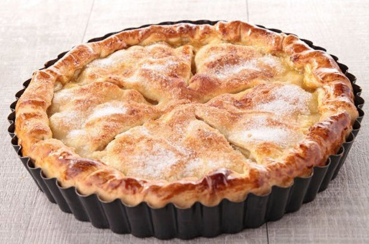 Farm Fresh Apple Pie For The Three Little Bears Recipes — Dishmaps