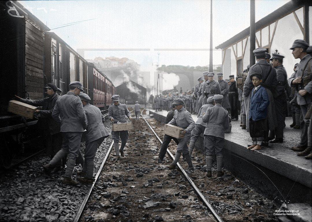 Fotografias a Color De la 1ra Guerra Mundial