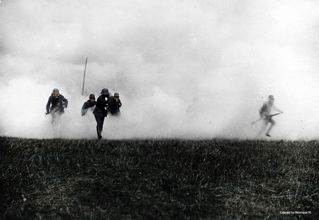 Fotos coloridas da Primeira Guerra Mundial