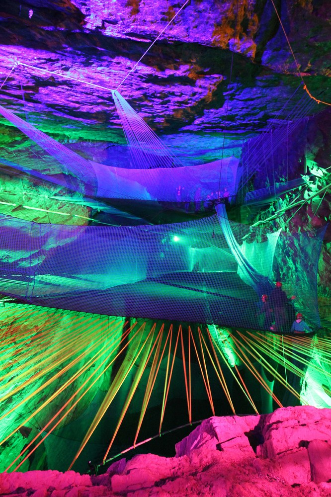 Underground Trampolining With Bounce Below In Llechwedd Caves (PICTURES) Slide_356137_3916942_free