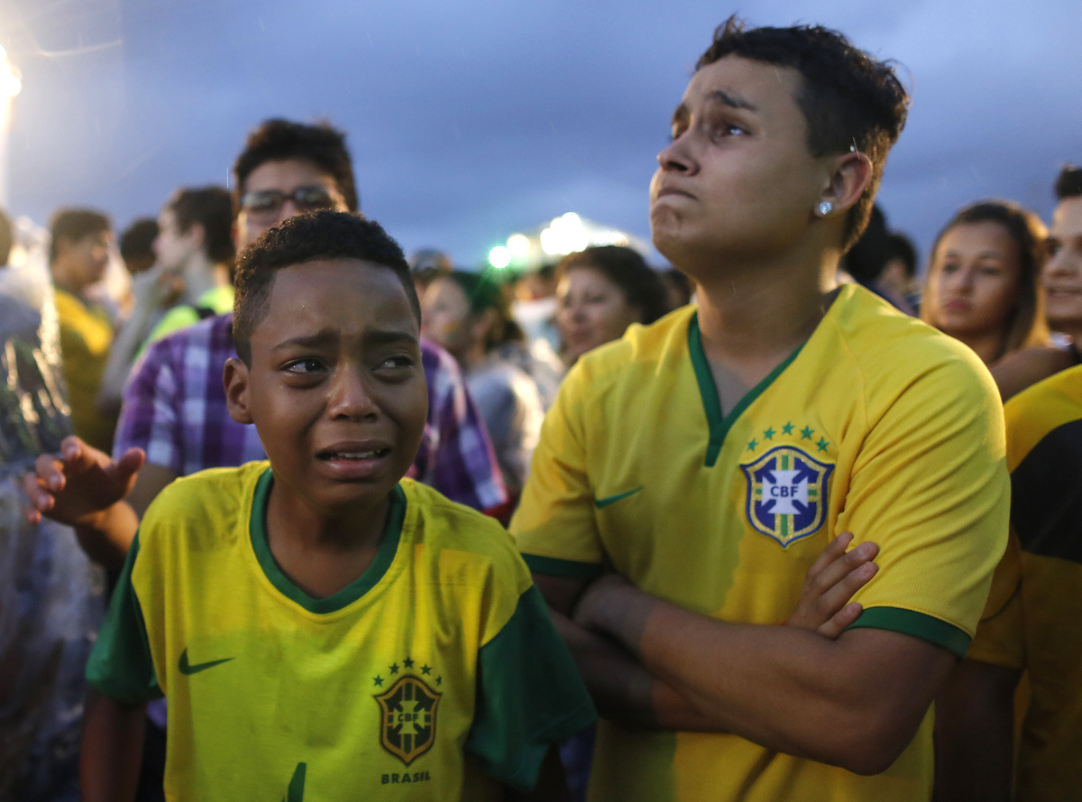 Cuplikan Gol Brasil vs Jerman, Video Highlights Semifinal Piala Dunia 2014 - berita Internasional Piala Dunia