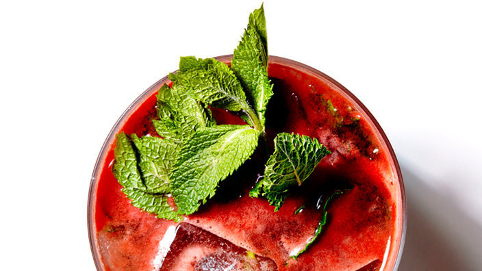 Get the Watermelon Mojito recipe from bitememore via Food52