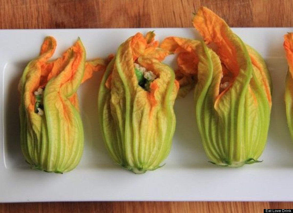 Squash Blossoms Prove Some Flowers Are Meant For Eating