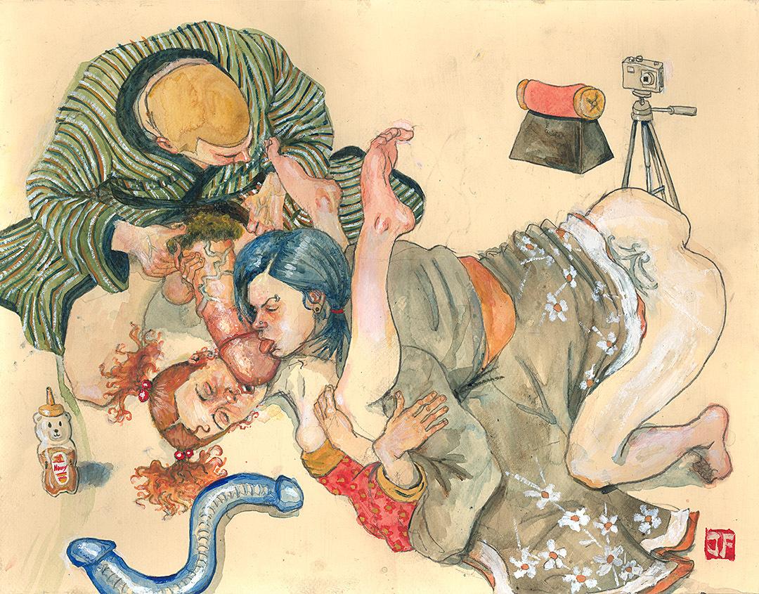 Idea and Japanese erotic art